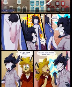 The Final Step 003 and Gay furries comics