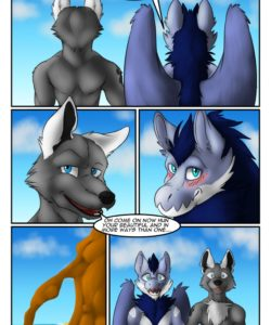 The Hidden Beach 003 and Gay furries comics