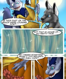 The Hidden Beach 005 and Gay furries comics