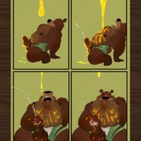 The Honey Pot gay furry comic