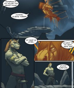 The Horse With No Name 1 005 and Gay furries comics