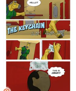The Keychain 001 and Gay furries comics