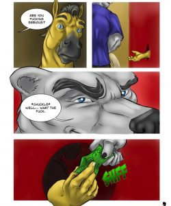 The Keychain 003 and Gay furries comics