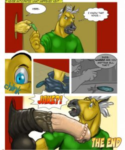 The Keychain 009 and Gay furries comics