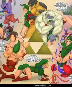 The Legend Of Zelda gay furries