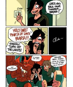 The Misadventures Of Tobias And Guy 012 and Gay furries comics