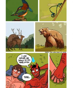 The Misadventures Of Tobias And Guy 032 and Gay furries comics