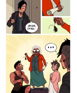 The Misadventures Of Tobias And Guy 035 and Gay furries comics