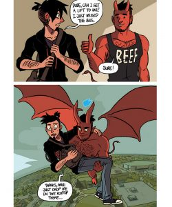 The Misadventures Of Tobias And Guy 040 and Gay furries comics