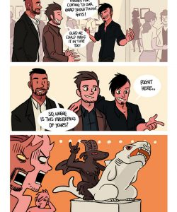 The Misadventures Of Tobias And Guy 043 and Gay furries comics