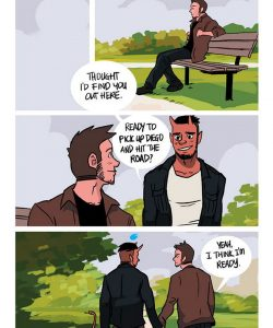 The Misadventures Of Tobias And Guy 051 and Gay furries comics