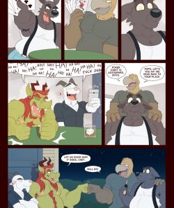 The Rise Of Chet 005 and Gay furries comics