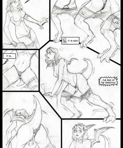 The Rise Of The Gargoyle 002 and Gay furries comics