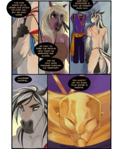 The Silk Sash 005 and Gay furries comics