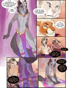 The Silk Sash 012 and Gay furries comics