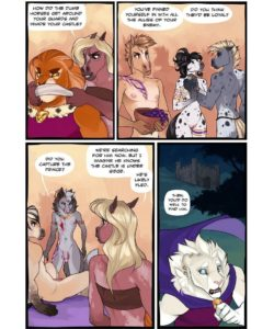 The Silk Sash 037 and Gay furries comics