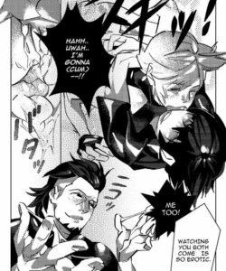 The Sleeping Prince 013 and Gay furries comics