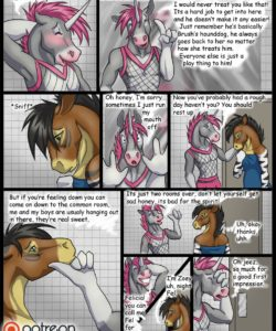 The Stable 1 - Zoey's First Day 014 and Gay furries comics
