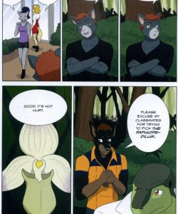 The Student And The Botanist 008 and Gay furries comics