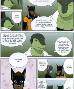 The Student And The Botanist 009 and Gay furries comics
