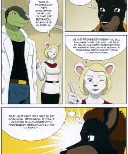 The Student And The Botanist 011 and Gay furries comics