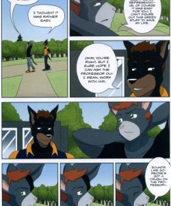 The Student And The Botanist 013 and Gay furries comics