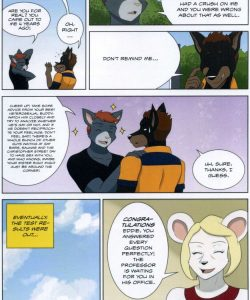 The Student And The Botanist 014 and Gay furries comics