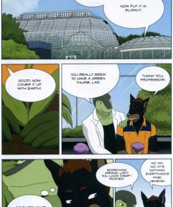 The Student And The Botanist 017 and Gay furries comics
