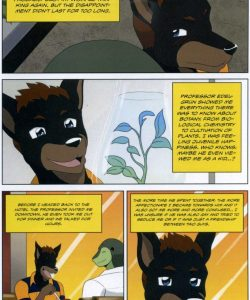 The Student And The Botanist 018 and Gay furries comics