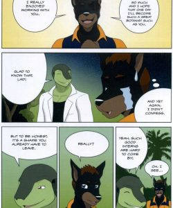 The Student And The Botanist 021 and Gay furries comics