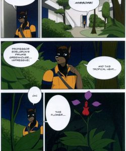 The Student And The Botanist 026 and Gay furries comics