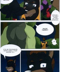 The Student And The Botanist 027 and Gay furries comics