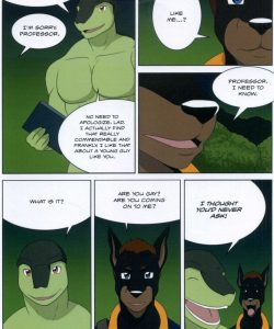 The Student And The Botanist 030 and Gay furries comics