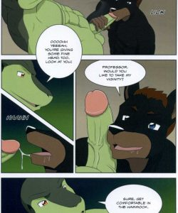 The Student And The Botanist 035 and Gay furries comics