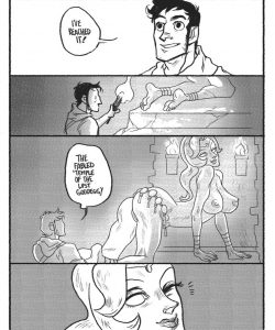 The Temple gay furry comic