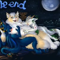 The Three Of Us gay furry comic