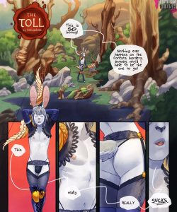 The Toll 001 and Gay furries comics