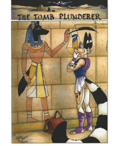 The Tomb Plunderer 001 and Gay furries comics