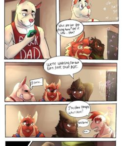 The Walking Devils 003 and Gay furries comics