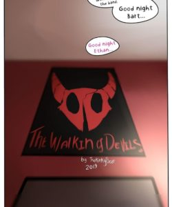 The Walking Devils 013 and Gay furries comics