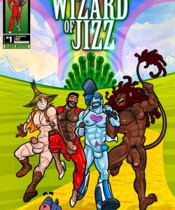 The Wizard Of Jizz 001 and Gay furries comics