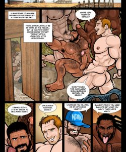 The Wizard Of Jizz 002 and Gay furries comics