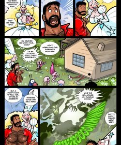 The Wizard Of Jizz 009 and Gay furries comics