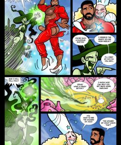 The Wizard Of Jizz 011 and Gay furries comics