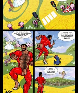 The Wizard Of Jizz 012 and Gay furries comics