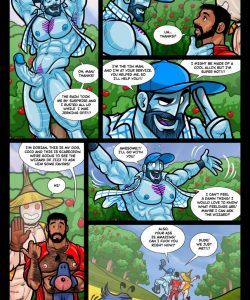 The Wizard Of Jizz 017 and Gay furries comics