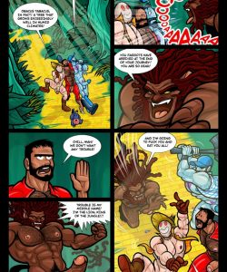 The Wizard Of Jizz 018 and Gay furries comics