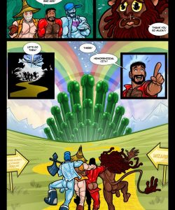 The Wizard Of Jizz 021 and Gay furries comics