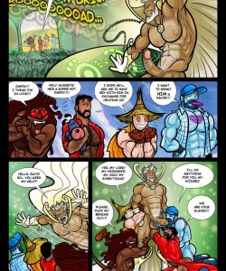 The Wizard Of Jizz 023 and Gay furries comics