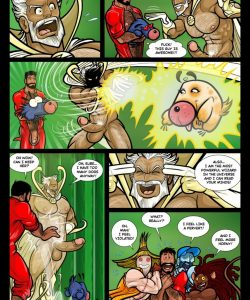 The Wizard Of Jizz 024 and Gay furries comics